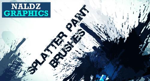 splatter paint brush
