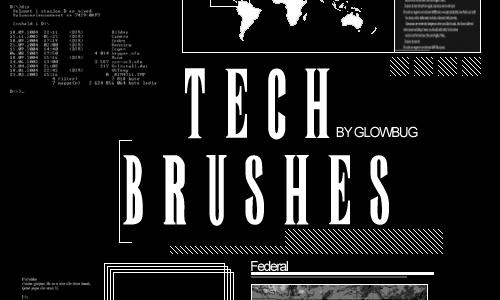 tech brushes v