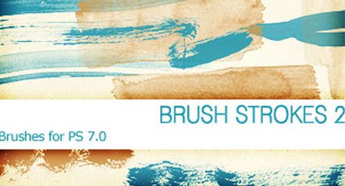 brush strokes 2