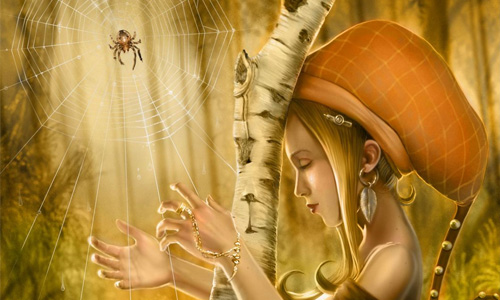 spider harp