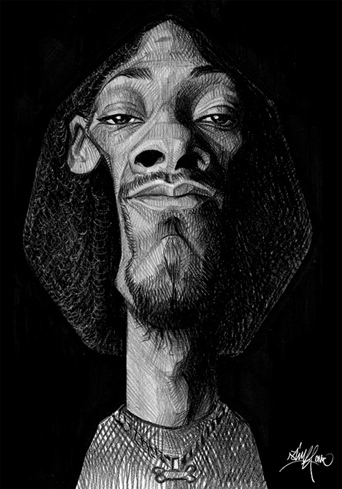 face caricature artwork