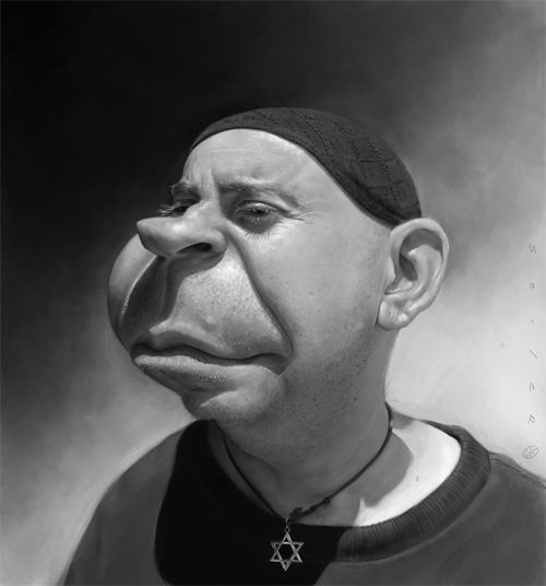 gary caricature artwork