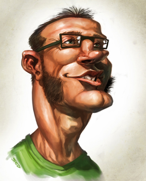 madness caricature artwork