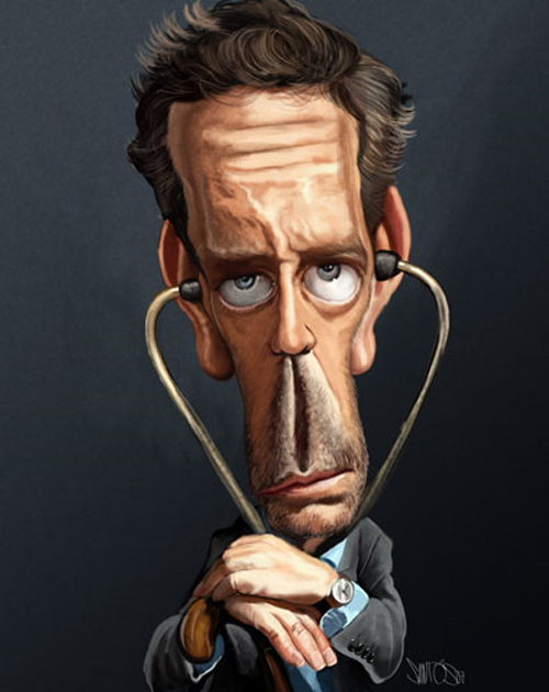 new caricature artwork