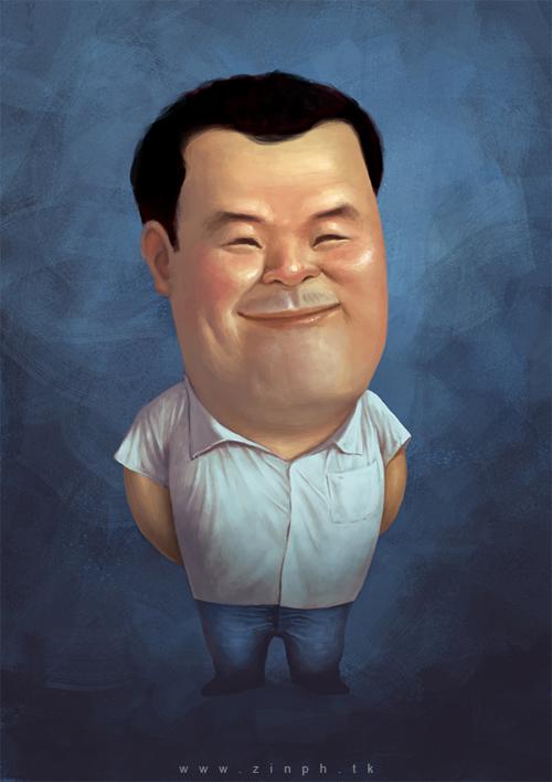 new cool caricature artwork