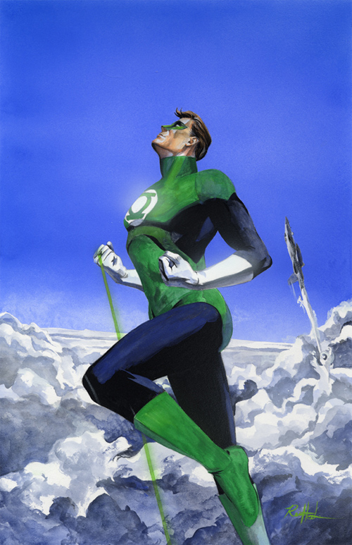 new green lantern artwork