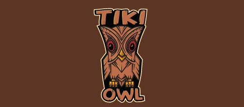 Bird Logos - Tiki Owl