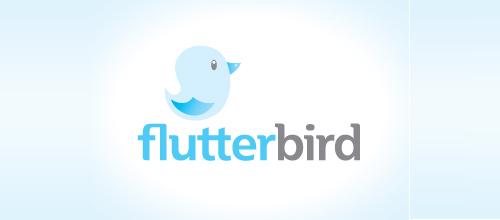 Bird Logos - Flutter Bird