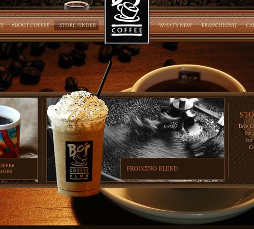Coffee Websites - BOS Coffee Club