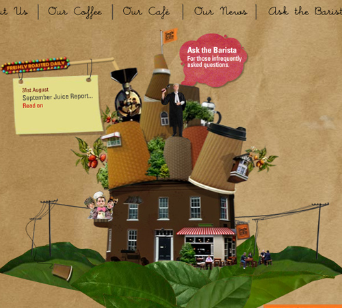 Coffee Websites - Single Origin