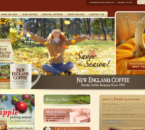 Coffee Websites - Neweng Land Coffee