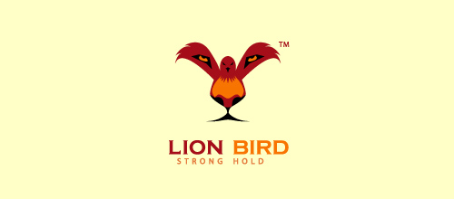 Bird Logos - Lion Bird