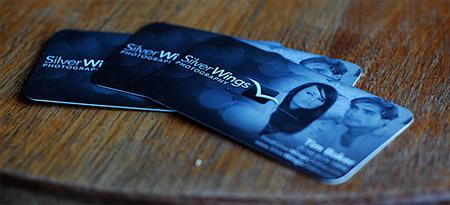 DOF shots business card