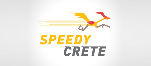 Bird Logos - Speedy Crete