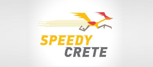 Bird Logos - Speedy Crete