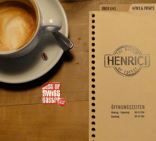 Coffee Websites - Cafe Henrici