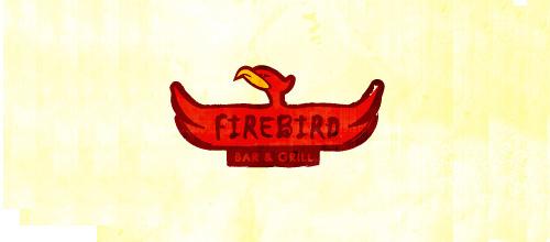 Bird Logos - Fire Bird