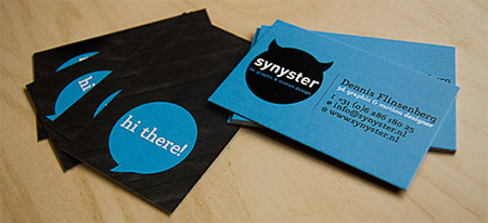 synyster personal card