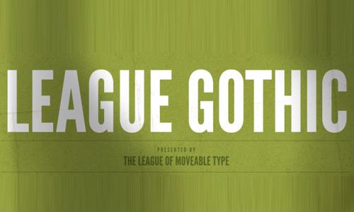 7 league gothic