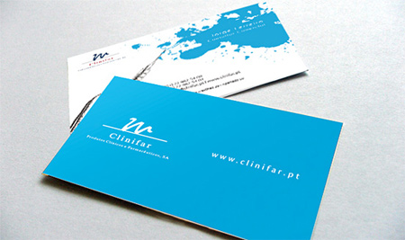 clinifar business card