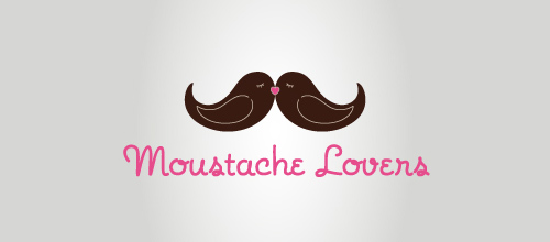 Bird Logos - Moustache Lovers