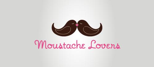 Bird Logos - Moustache Lovers