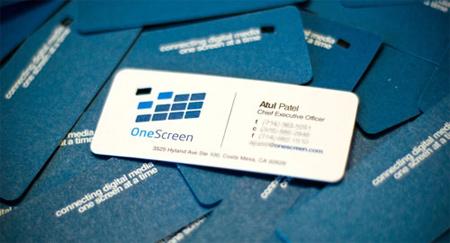 onescreen inc card