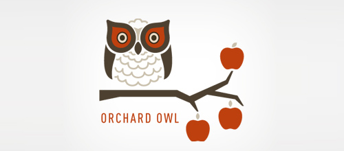 Bird Logos - Orchard Owl