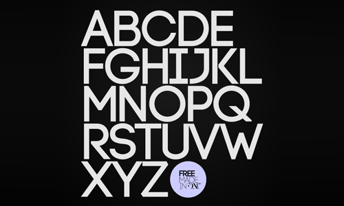 code free font