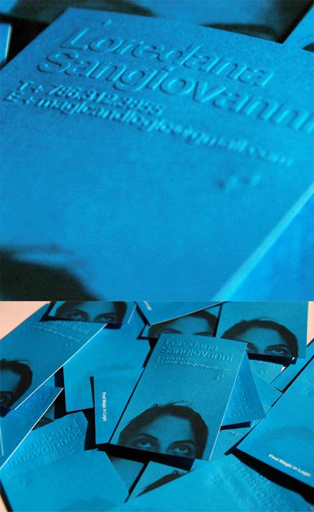 lory sangiovani business card