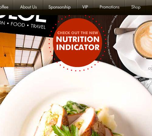 Coffee Websites - Coffee Club