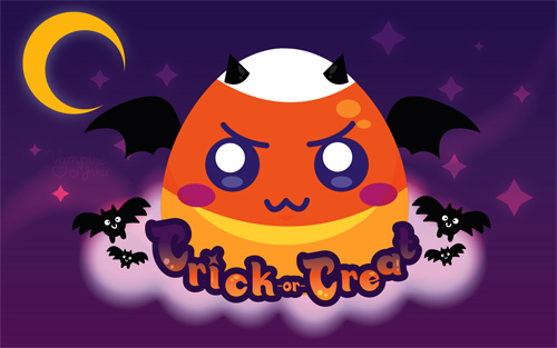Halloween Desktop Wallpapers - Candy Corn