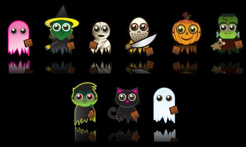 Halloween Icons - Happy Halloween