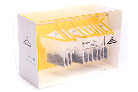 Creative Packaging Design - Hanger Tea