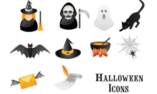 Halloween Icons - Free Halloween Vector Icon Set