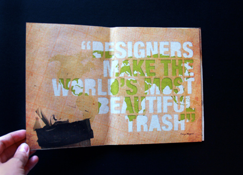 Booklet Designs - Beautiful Trash