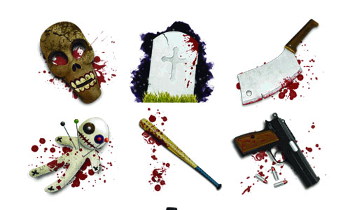 Halloween Icons - Horror Tool Icons