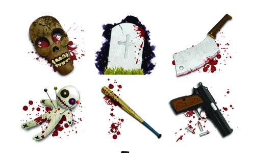 Halloween Icons - Horror Tool Icons
