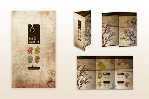 Booklet Designs - Maa Czarna