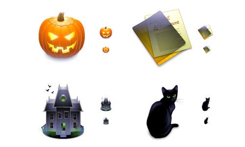 Halloween Icons - After Dark