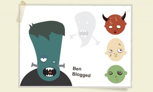 Halloween Icons - Free Vector Halloween Heads