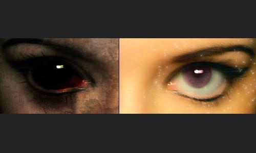 Halloween Photoshop Tutorials - Good and Evil