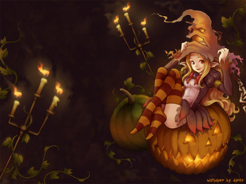 Halloween Desktop Wallpapers - Halloween Night