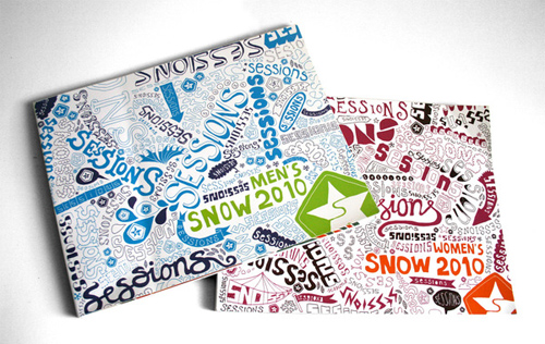 Booklet Designs - Sessions Snow