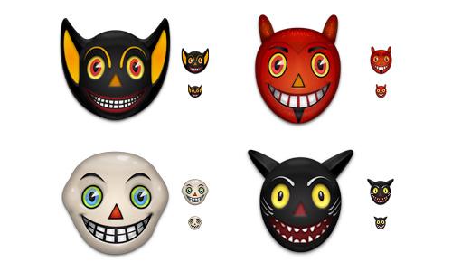 Halloween Icons - Vintage Halloween