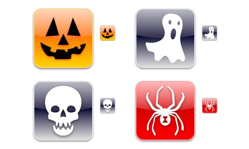 Halloween Icons - iPhonica Halloween