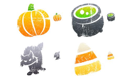Halloween Icons - Litho Halloween
