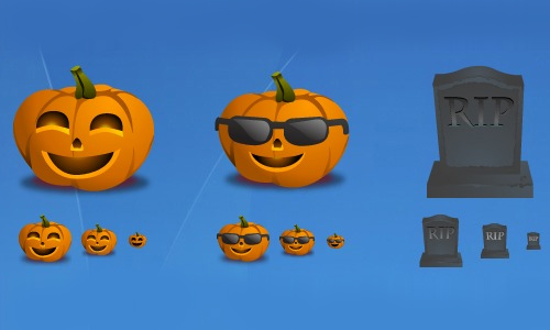 Halloween Icons - Halloween Icons by zeusbox