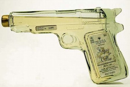 Creative Packaging Design - Tequila Gun Packaging