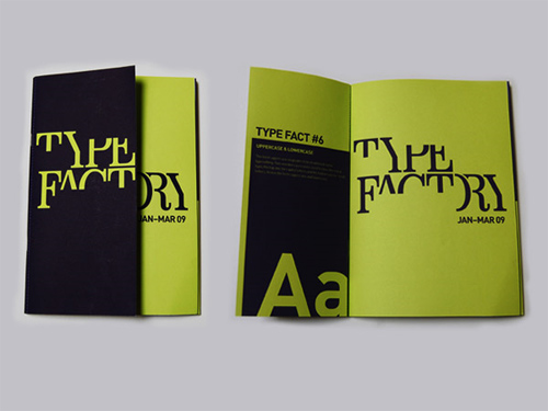Booklet Designs - Type Factory